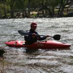 Canoe riding Frandy Park Campground